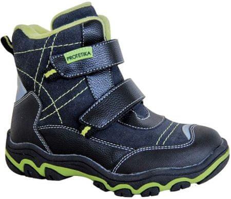 Protetika fantovski zimski čevlji za fante HANT BLACK 72017, 27, črni