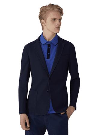 Trussardi Jeans muška jakna 52H00029-1T003571, 48, tamno plava