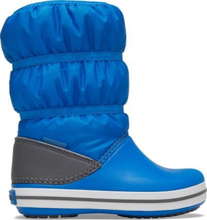 Crocs fantovski snežni škornji Crocband Winter Boot K Bright Cobalt/Light Grey 206550-4JW, 27- 28, modra