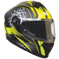 CGM Integrálna prilba moto Motegi – žltá