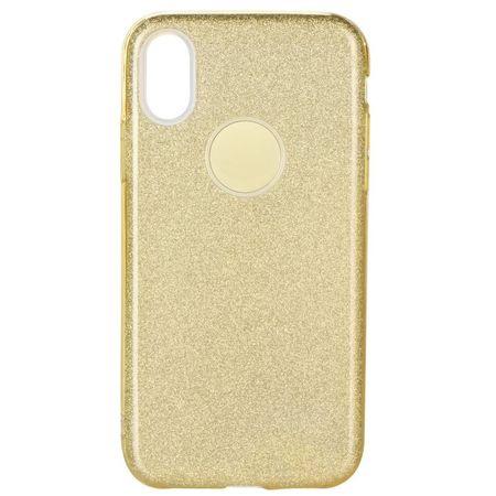 FORCELL Shining szilikon tok Samsung Galaxy A70, arany