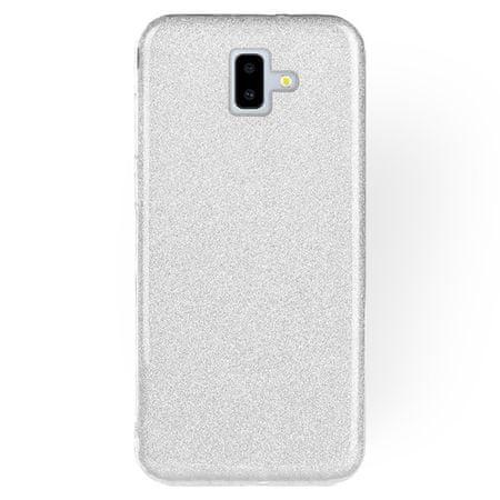 FORCELL Shining szilikon tok Huawei Y5 2019, ezüst