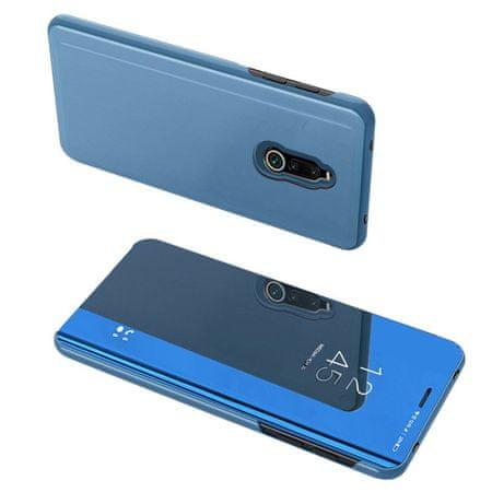 MG Clear View könyvtok Xiaomi Redmi 8, kék