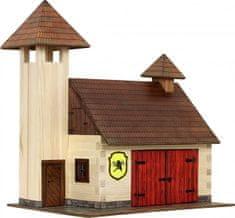 WALACHIA Drevená stavebnica - hasičská zbrojnica
