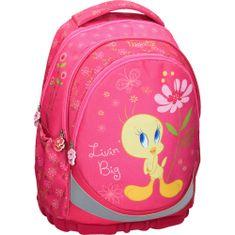 Tweety ruksak, ergonomski, rozi