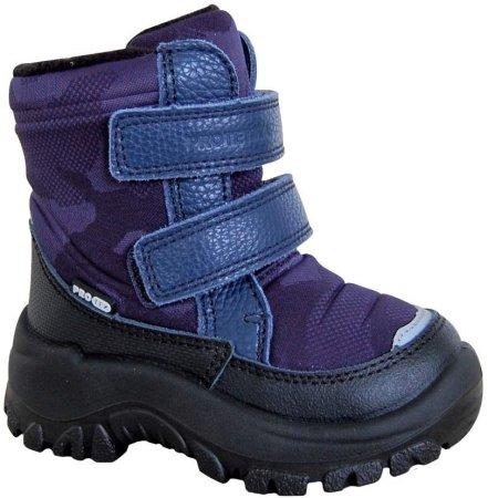 Protetika BROK 72052 lány téli cipő, 24, sötétlila