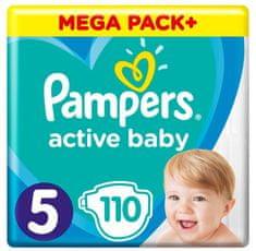 Pampers Active Baby Mega Pack Veľkosť 5, 110 ks 11-16 kg