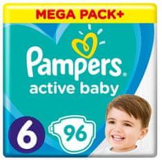Pampers Active Baby Mega Pack Rozmiar 6, 96 szt. 13-18 kg