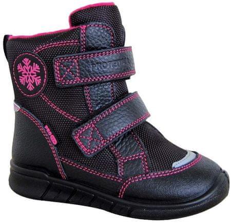 Protetika téli cipő lányoknak LAURA 72052 28, fekete
