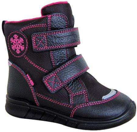 Protetika téli cipő lányoknak LAURA 72052 33, fekete
