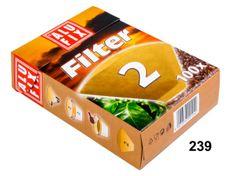 Jolly Kávové filtry vel. 2 - nebělené, 100 ks
