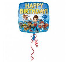 Fóliový balónek Tlapková Patrola - Paw Patrol - Happy birthday - 43 cm