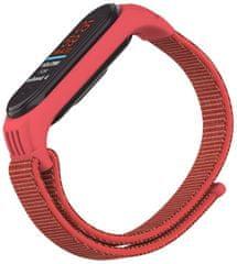 EPICO NYLON STRAP Xiaomi Mi Band 5 50818141400001, červená