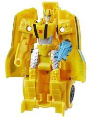 Transformers Cyberverse Bumblebee figura, 1 korak transformacije