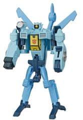 Transformers Cyberverse Whirl figura, 1 korak transformacije