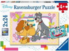 Ravensburger Puzzle 050871 Disney rozprávky 2x24 dielikov