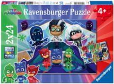 Ravensburger Puzzle 078240 Pizsihősök 2x24 darab