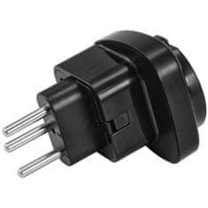 Omnitronic Adapter EU / CH Plug 10A, čierny