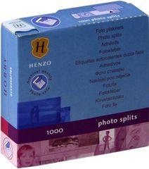 Henzo Foto nalepke 1000 kos, obojestranske in brezkislinske 18302.00
