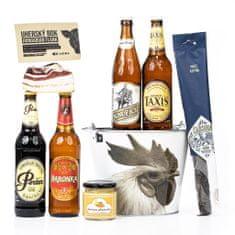 Dárkový pivní koš Mezi námi zvířaty
