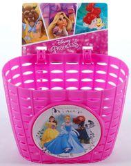 Volare Detský košík na bicykel - Disney Princess