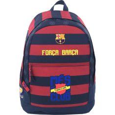 Barcelona FC nahrbtnik, ovalni, moder/rdeč