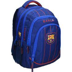 Barcelona FC nahrbtnik, ovalni, moder