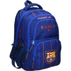 Barcelona FC nahrbtnik 2, ovalni, moder