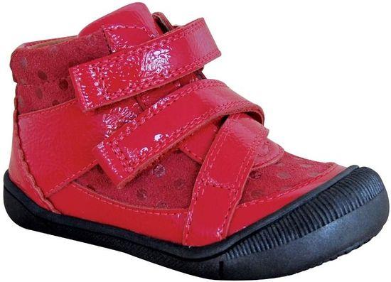 Protetika dievčenská celoročná obuv DELIA 72021, 25, červená