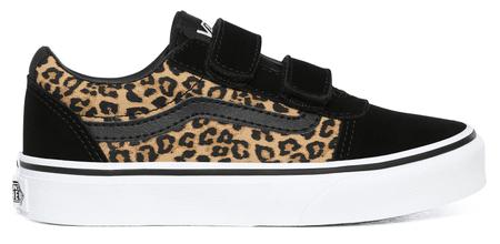 Vans gyermek cipő MY Ward V (cheetah) black VN0A4BTC36I1, 37, fekete