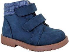 Protetika chlapčenská zimná obuv HAROLD NAVY 72021