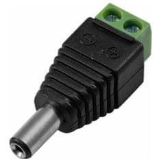 Eurolite Adaptérová skrutka s dutým konektorom , samec