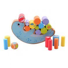 Jouéco drevená balančná hra Tuleň 36m+