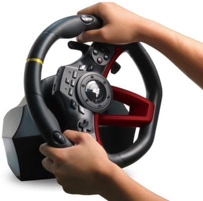Herní volant  Hori Wireless Racing Wheel Apex  270 PS4 PC SONY vibrace řazení přísavky bezdrátové