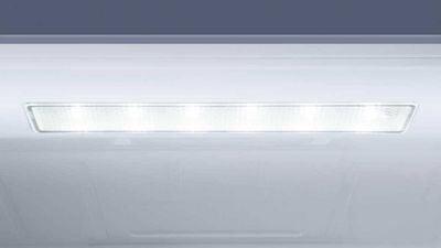 Americká lednice Haier HB18FGSAAA osvětlení LED
