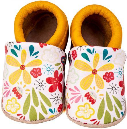 Medico lány kiscipő az első lépésekhez ME 4588 G, 22.0, sárga