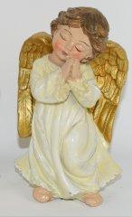 DUE ESSE Figurka anioła modlącego się 10 cm