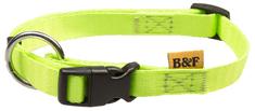 BAFPET Szíj nyakörv NEON zöld