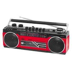 Trevi RR 501 BT RAD.REG.STEREO BLUETOOTH MP3 ROSSO, RR 501 BT RAD.REG.STEREO BLUETOOTH MP3 ROSSO