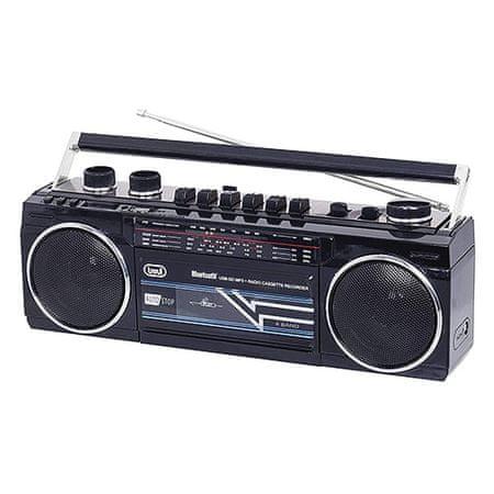Trevi RR 501 BT RAD.REG.STEREO BLUETOOTH MP3 NERO, RR 501 BT RAD.REG.STEREO BLUETOOTH MP3 NERO