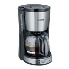 """SEVERIN Ekspres do kawy z timerem """"SELECT"""", ok. 1000 W, do 10, Ekspres do kawy z timerem """"SELECT"""", ok. 1000 W, do 10 filiżanek, automatyczne wyłączanie, funkcja aromatu, zegar cyfrowy z zegarem"""