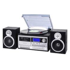 Trevi mikrorendszer, 25 W, CD, FM tuner, Bluetooth, támogatott formátumok: MP3