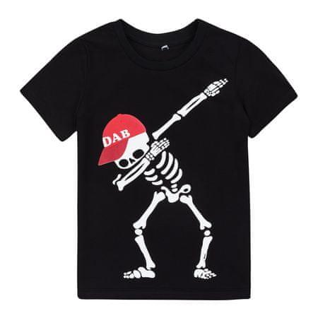 Garnamama fiú póló, 152, fekete