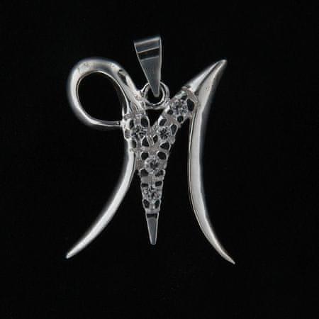 Amiatex Wisiorek srebrny 13795 + Skarpetki Gatta Calzino Strech, UNIWERSALNY
