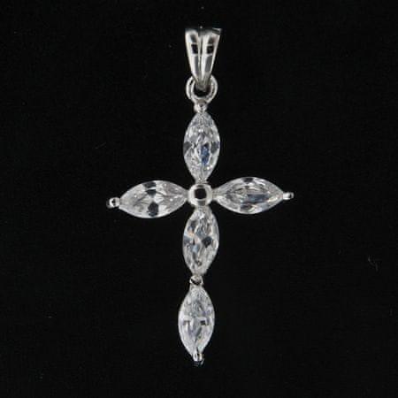 Amiatex Wisiorek srebrny 14014, UNIWERSALNY