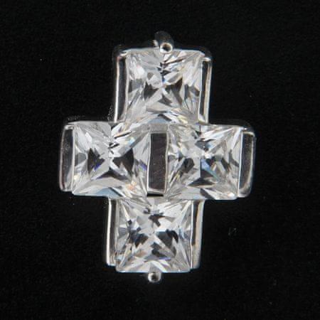 Amiatex Wisiorek srebrny 13993, UNIWERSALNY