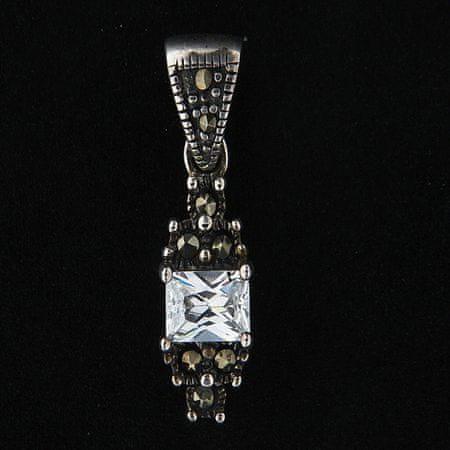 Amiatex Wisiorek srebrny 14009, UNIWERSALNY