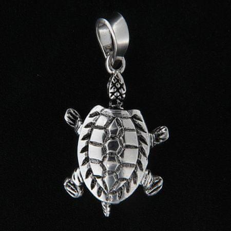Amiatex Wisiorek srebrny 14019 + Skarpetki Gatta Calzino Strech, UNIWERSALNY