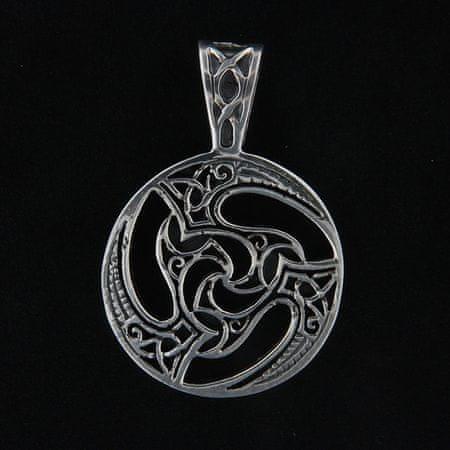 Amiatex Wisiorek srebrny 14064, UNIWERSALNY