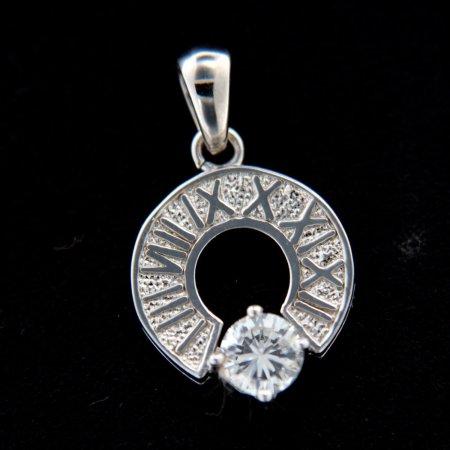 Amiatex Wisiorek srebrny 14571, UNIWERSALNY